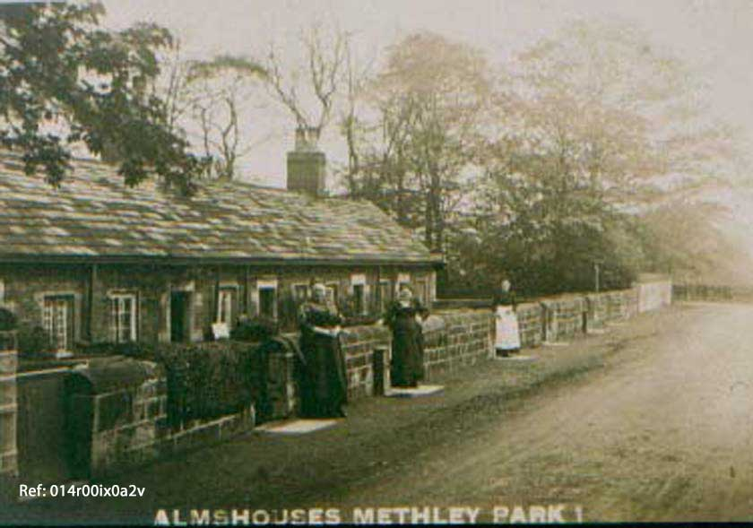 5 almshouses at woodend methley