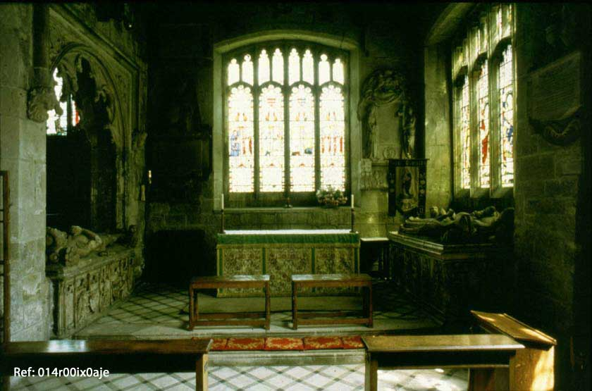 The Interior of the Waterton Chapel, St. Oswald's Church