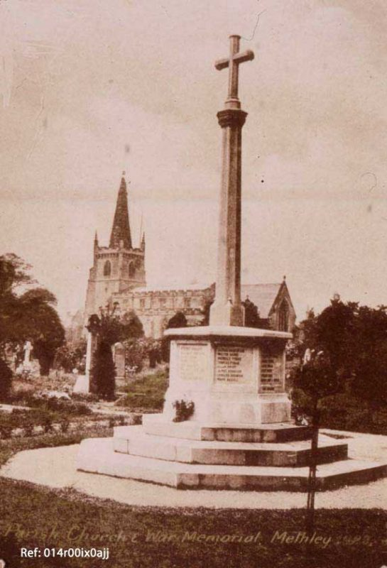 cenotaph methley 1923