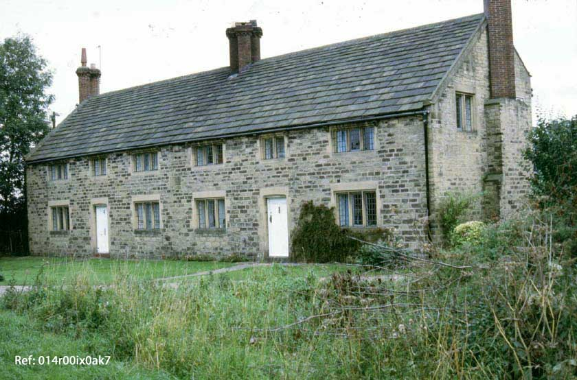Houses built at Woodend in 1936