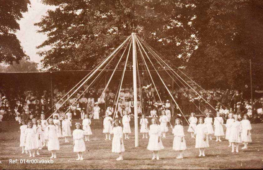 maypole dancing methley