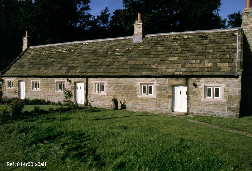 Almshouses restored but gardens not completed