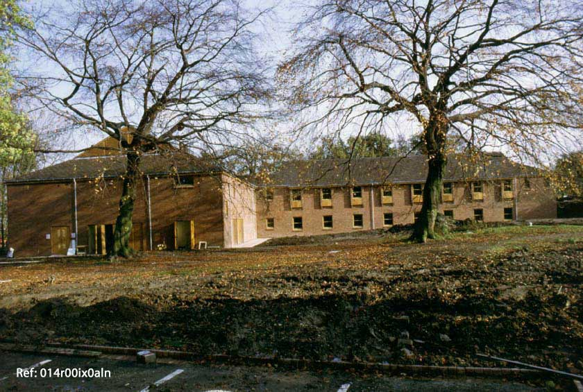 Methley Park Hospital, west view