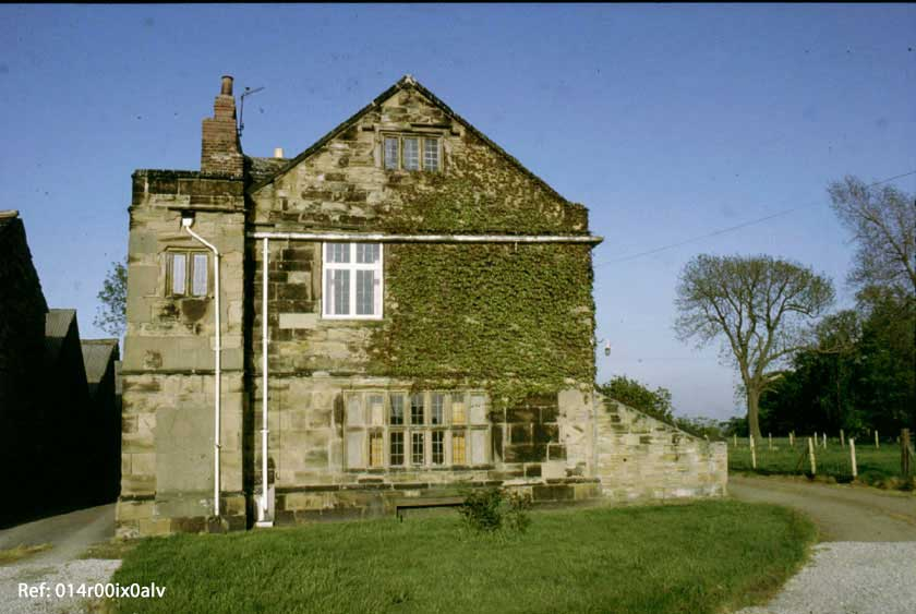 Clumpcliffe Farm House, west gable