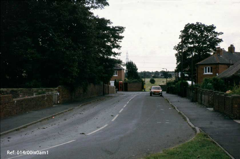 Mickletown Road, looking south, 1993.