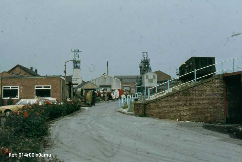Entrance to the Savile Pit 1982,