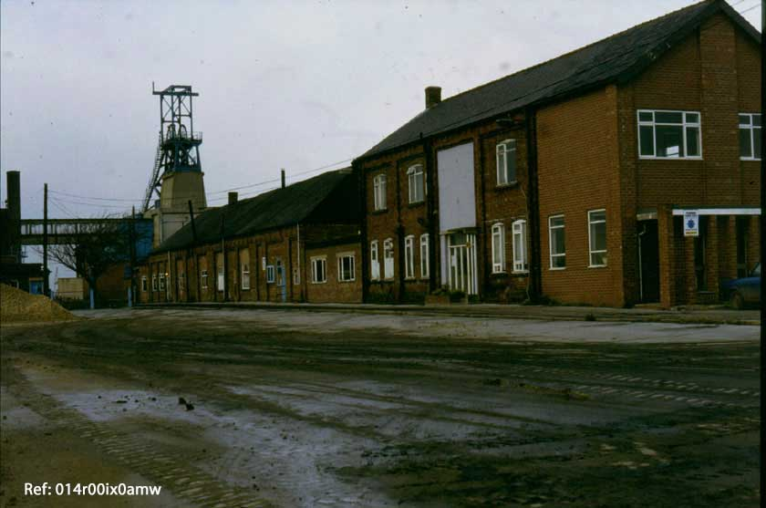 Savile Pit - demolition period 1985