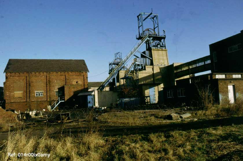 Savile Pit Demolition, a scene of dereliction.