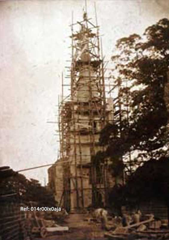 Tower and spire repairs 1899-1901