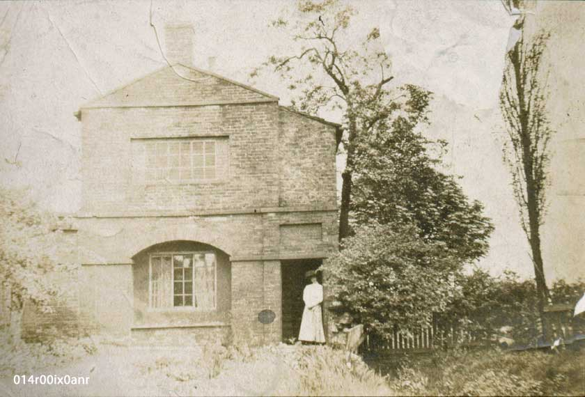 Garden House c.1900. methley