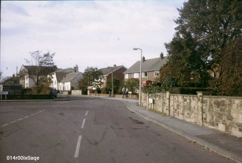 Junction of Pinfold Lane and Main Street