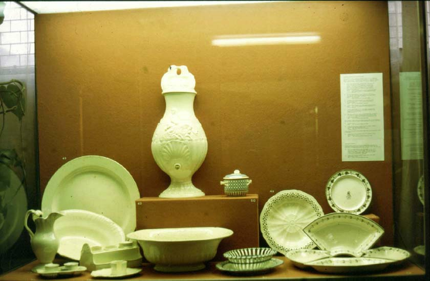 Examples of Dunderdale's Castleford Pottery