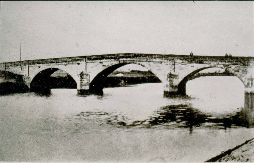 Methley Water Bridge, 1935.