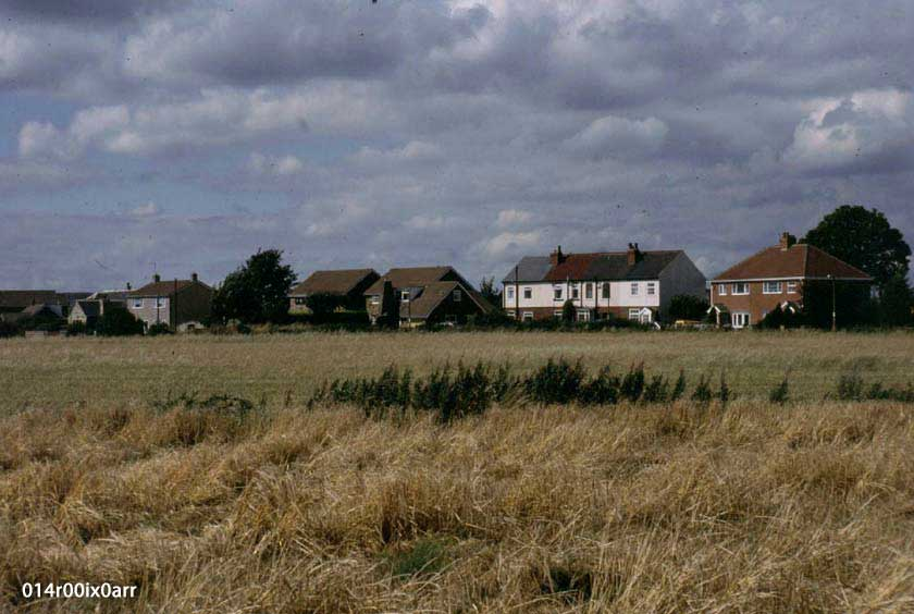 Lower Mickletown from Green Lane, 1993
