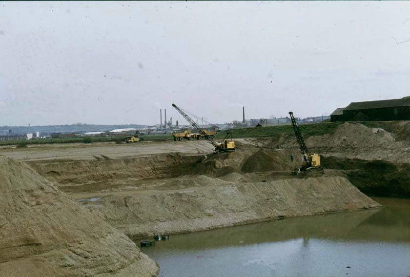 Sand and Gravel Extraction, 1981