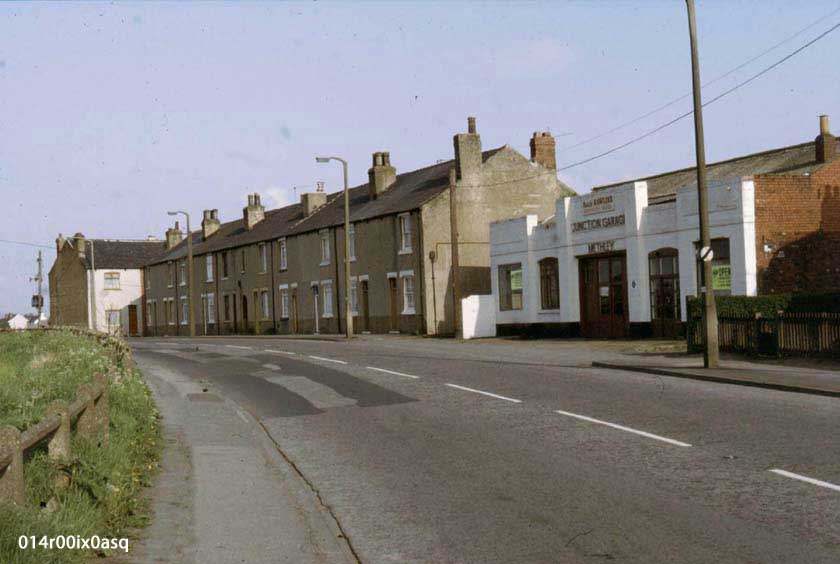 Methley Junction - Low Row and Junction Garage.