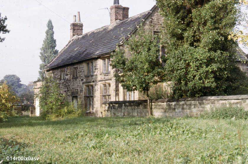 Dame School, Pindergreen, rear view, 1983.