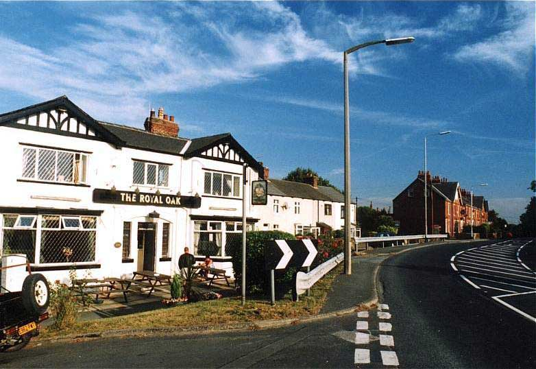 the royal oak, methley