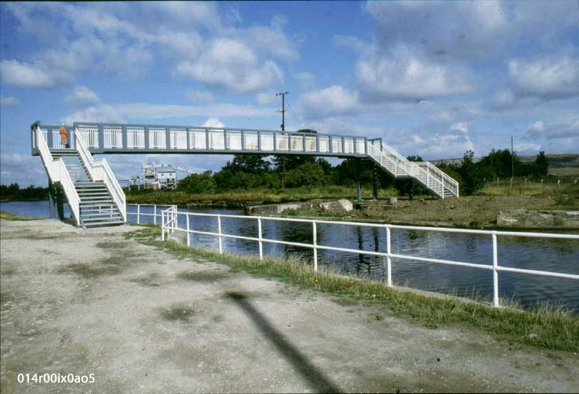 The Canal Bridge was completed, 9th May, 1986.