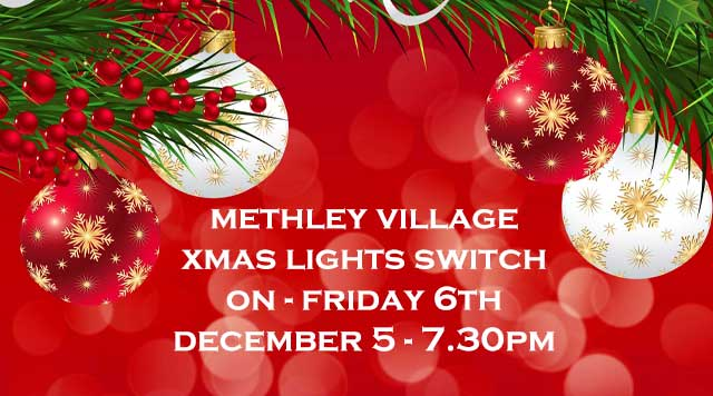 Methley Christmas lights switch-on